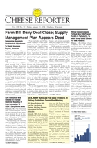 Cheese Reporter, Vol. 138, No. 30, Friday, January 17, 2014
