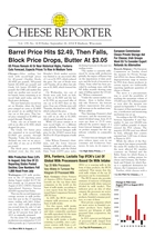 Cheese Reporter, Vol. 139, No. 14, Friday, September 26, 2014
