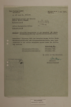 Memo re: Telephone Connections of the Bavarian BP Posts Pfrontenried-Vilstal and Pfrontenried-Fallmuhle, February 7, 1951