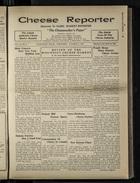 Cheese Reporter, Vol. 54, no. 4, Saturday, October 5, 1929