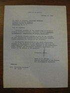 David B.H. Martin to Henry W. Riecken, January 31, 1962