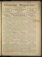 Cheese Reporter, Vol. 61, no. 5, October 3, 1936