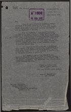 Letter from Charles Dodd to Brendan Bracken re: Plan for Propaganda Amongst British West Indians, January 29, 1943