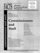 1997 Update to Facts about the Status of Women in Connecticut