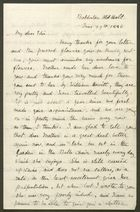 Letter from Emily M. Bakewell to Edith Thompson, June 29, 1886