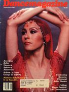 Dance Magazine, Vol. 55, no. 9, September, 1981