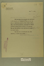 Memo from E. D. Anderson re: Wounding of Mexican Boys by American Soldiers, July 20, 1918