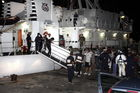 Arrival of African Refugees in Lampedusa, Italy, 2013 (photo)