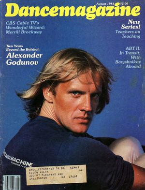 Dance Magazine, Vol. 55, no. 8, August, 1981