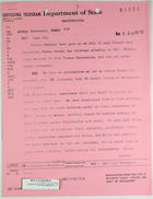 Telegram from Dept. of State to U.S. Embassy in Paris re: Protesting Cuban Decree Law, August 3, 1963