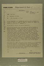 Telegram from Yost in New York to Secretary of State, September 4, 1963