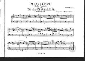 Menuett No. 3