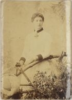 Photograph: Mrs. L. Edwards circa 1888