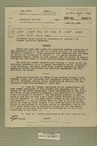 Increased Israel Resort to Invocation of Article I of General Armistice Agreements, June 28, 1956