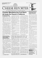 Cheese Reporter, Vol. 132, No. 12, Friday, September 21, 2007