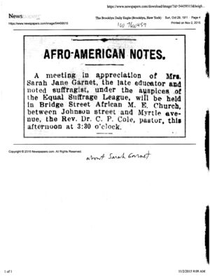 Afro-American Notes