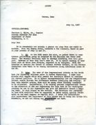 Letter from Armin H. Meyer to Theodore L. Eliot, Jr. re: UN; Arms; Oil; W. Averell Harriman Visit; Shah's Trip, July 19, 1967