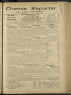 Cheese Reporter, Vol. 57, no. 28, March 20, 1933