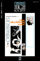 Cerebus: High Society, no. 19