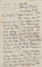 Letter from Jessie Love to Robert Logan and Janet Love Jack, May 2, 1897