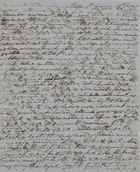 Cross-Written Letter, Unsigned, Unaddressed, June 10, 1844