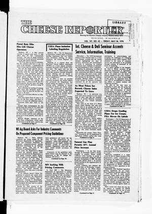 Cheese Reporter, Vol. 101, No. 42, Friday, May 26, 1978
