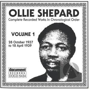 Ollie Shepard Vol. 1 (1937-1939)