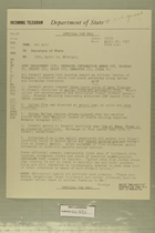 Telegram from Edward B. Lawson in Tel Aviv to Department of State, April 20, 1957