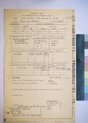 1-10-84 Information Sheets
