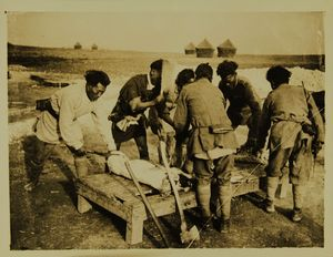 Photograph of Butchers in Manipur, India