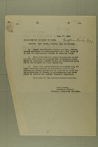 Memo from Henry Jervey re: Line Fences, Nogales, Naco and Douglas, February 2, 1918
