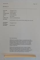 Letter to Senator Bennett, August 30, 1995