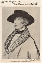 A Drawing of Miss Radclyffe Hall