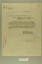 Authorization of Funds to Cover Cost of Refrigerator for Use at San Benito Pumping Station, July 19, 1919