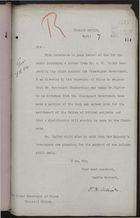 Letter from F. H. Villiers to Under Secretary of State, Colonial Office, re: Partial Settlement of Mr. A. M. Taylor's Claim Against Nicaraguan Government, April 7, 1898