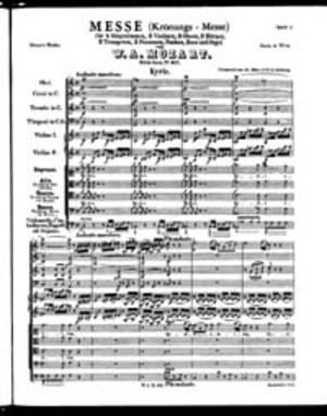 Missa, K. 317, C Major