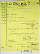 Airgram from U.S. Embassy in Bern to Department of State re: Figures Concerning Red Cross Repatriation Flights, April 26, 1963
