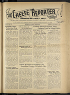 Cheese Reporter, Vol. 67, no. 18, January 1, 1943