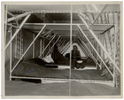 Crew Bunks in a Dirigible, ca. 1933