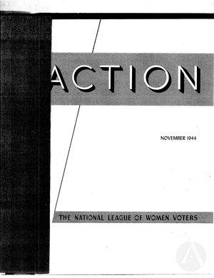 Action, vol. 1 no. 1, November 1944