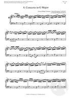 9. Concerto in G Major, G Major