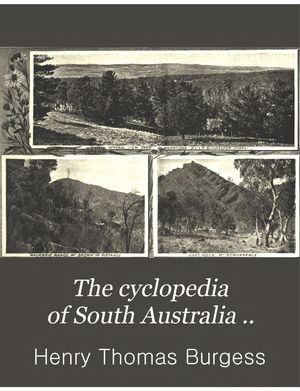 The Cyclopedia Of South Australia