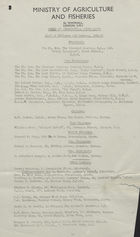 Guild of Agricultural Journalists: List of Officers and Members, 1946 -47
