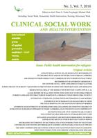 Clinical Social Work and Health Intervention, No. 3, Vol. 7, 2016, Clinical Social Work, No. 3, Vol. 7, 2016