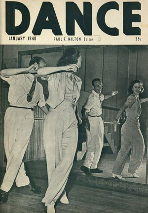 Dance (Magazine), Vol. 7, no. 2, January, 1940, Dance, Vol. 7, no. 2, January, 1940