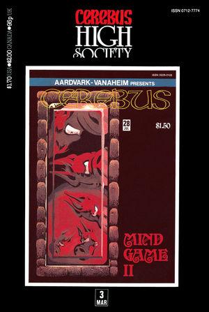 Cerebus: High Society, no. 3
