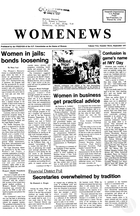 Womenews San Francisco, vol. 2 no. 3, September 1977
