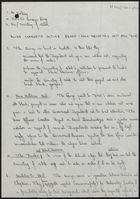 Draft Letters re: Asian Community Action Group, c. April 1982