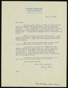 Letter from Franz Boas to Ruth Benedict, July 20, 1934