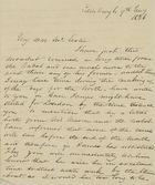 Letter from Hugh Gordon to William Leslie, January 9, 1836
